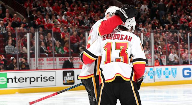 Johnny Gaudreau has been unstoppable of late. (Photo by Chase Agnello-Dean/NHLI via Getty Images)
