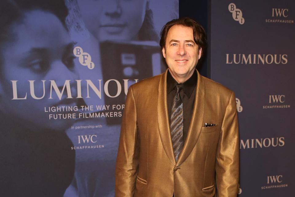 """LONDON, ENGLAND - OCTOBER 01:   Jonathan Ross attends the BFI & IWC Luminous Gala at The Roundhouse on October 1, 2019 in London, England. During the event, Oscar-winning director Danny Boyle presented the fourth """"IWC Filmmaker Bursary Award in Association with the BFI"""" worth £50,000.  (Photo by David M. Benett/Dave Benett/Getty Images for IWC)"""