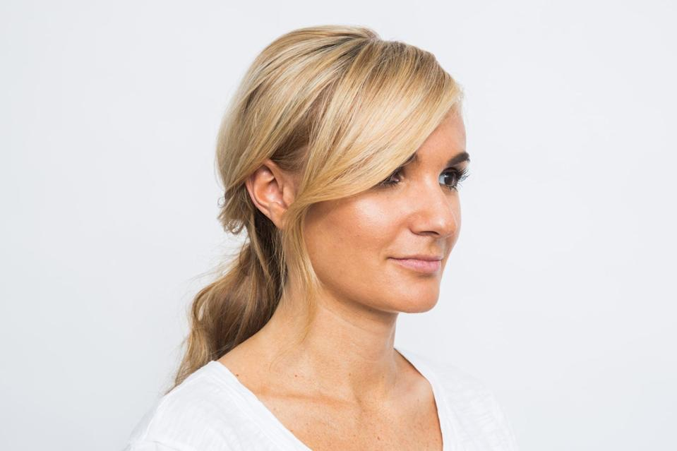 <p>In addition to keeping your bangs in place, this teasing technique also helps create volume, so your bangs look full.</p>