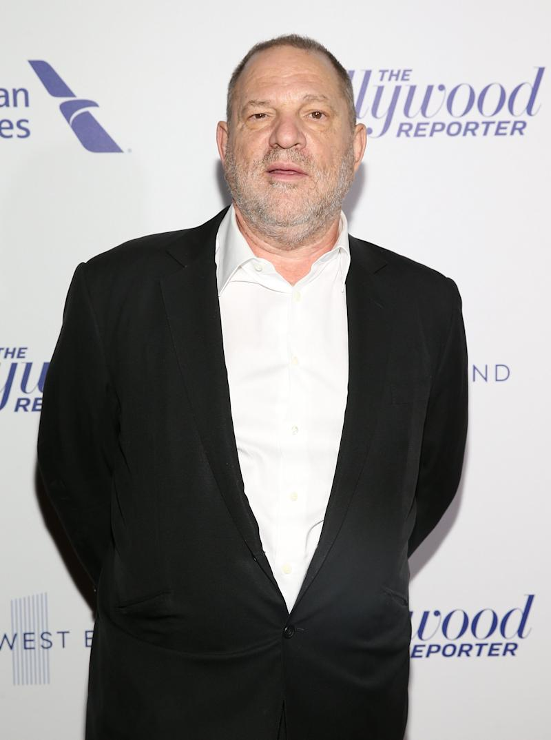 Harvey Weinstein pictured in 2017.