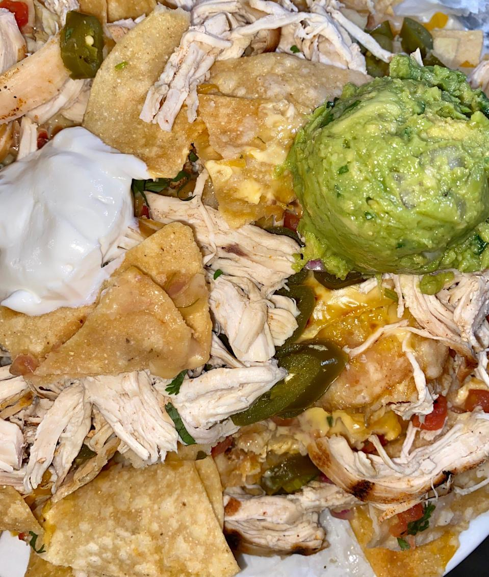 Nachos from Saddle Ranch
