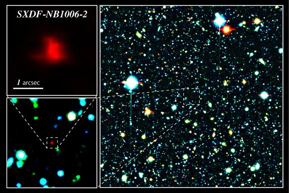 Newfound Galaxy May Be Most Distant Ever Seen