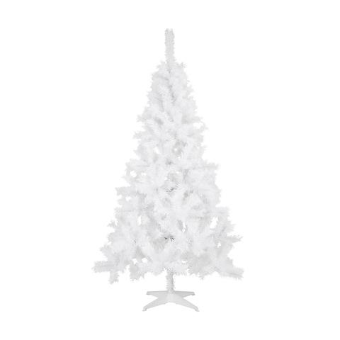 The perfect blank canvas: A 1.82m white Christmas tree, $39 from Kmart. Photo: Kmart.