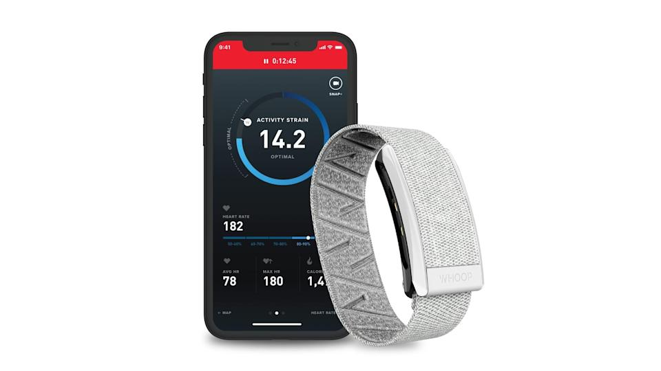 <p>I am obsessed with my <span>Whoop 3.0 Performance Strap</span> ($288 for a 12-month membership) and cannot leave my apartment without it. The Whoop strap measures your strain (how hard your body is working) during workouts and also tracks your sleep performance and recovery.<br></p> <p>I love the sleep feature because it tells you how many hours of sleep you need based on your fitness goals, how you recovered, and how many hours you slept the prior night. It also lets you know the level of physical activity your body will be able to handle the following day. For example, if you only got five hours of sleep, it would recommend a low-impact workout or a recovery day over a high-intensity workout.<br></p> <p>The strap also tracks how your body is adapting to the workouts you do and provides insight on whether or not you should scale back or progress the intensity of your workouts. </p> <p><strong>Who it's for:</strong> This tracker is for the person who's really into fitness, trains consistently, and loves data and organization.</p>