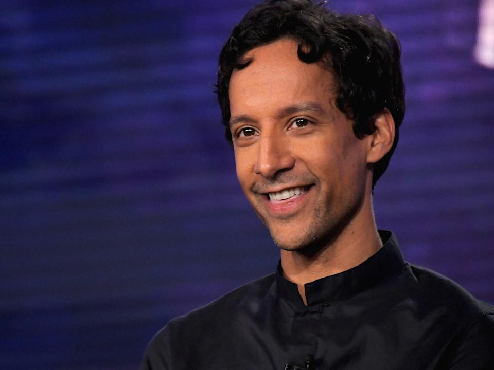 Danny Pudi during a press tour on 11 January 2018 in Pasadena, California (Charley Gallay/Getty Images for Turner)