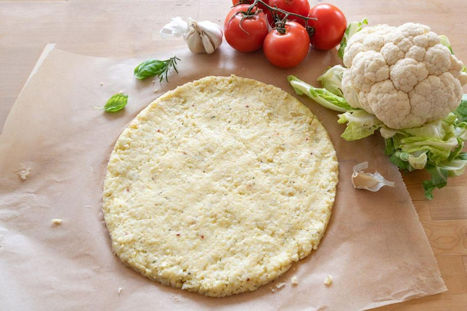 "<p>Cauliflower pizza crust is a delicious low-carb option, but it can also be frustrating to prepare. According to Alexander, there are so many frozen options that will save you tons of time. ""There are brands of cauliflower pizza crust that are very clean and others that are not,"" she says. ""It's a time consuming process to make it, so as long as you're getting a clean one, it's so much easier (and not less expensive) to buy it."" </p>"