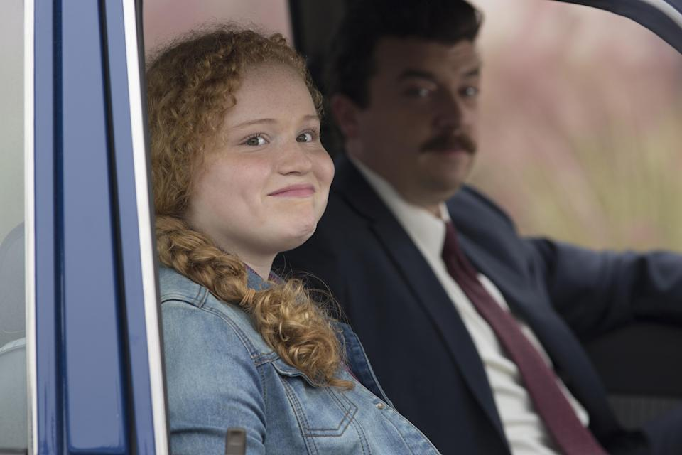 Maya Love and Danny McBride in the series finale of<em> Vice Principals.</em> (Photo: Fred Norris/HBO)