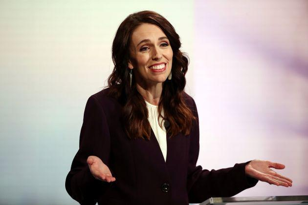 New Zealand Prime Minister Jacinda Ardern participates in a televised debate with National leader Judith Collins at TVNZ in Auckland, New Zealand, September 22, 2020.  Fiona Goodall/Pool via REUTERS (Photo: POOL New via Reuters)