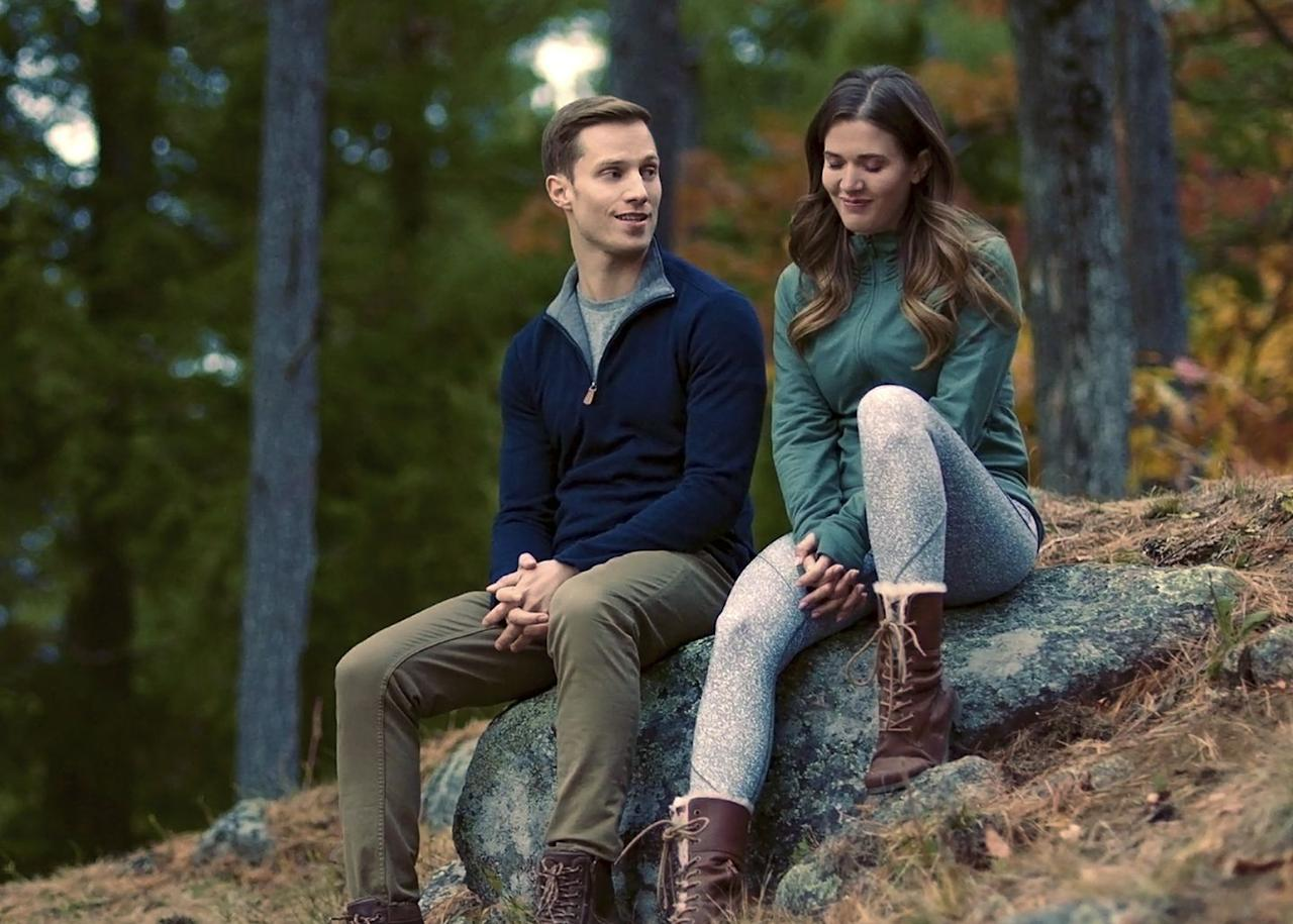 <p><strong>Saturday, September 26 at 9 p.m. on Hallmark Channel</strong></p><p>Lily (played by<strong> Clark Backo</strong>) and Noah (played by <strong>Jonathan Keltz</strong>) team up to make his sister's mountain wedding dream a reality. Along the way, they discover exactly what their lives are missing: each other. </p>