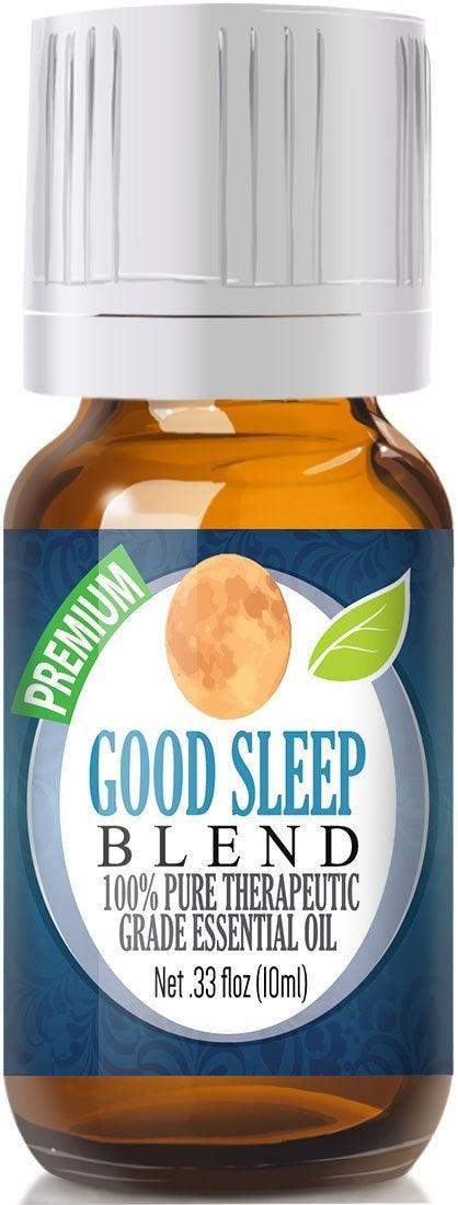 """<strong><h3>Good Sleep Essential Oil Blend</h3></strong><br>Drop this soothing blend of sage, copaiba, and lavender oil into a bedside diffuser or onto your wrists and temples for sleep-scent aid — the Amazon's Choice buy is rated 4.4 out of 5 stars with over 4,000 reviews: """"Can't say enough good things about this blend. It truly helps me sleep...and I've had a long history of insomnia. So you know I've tried lots of things...Will be buying this high-quality oil again for diffusing. Great value too!""""<br><br><em>Shop </em><a href=""""https://amzn.to/2U5VwKe"""" rel=""""nofollow noopener"""" target=""""_blank"""" data-ylk=""""slk:Healing Solutions"""" class=""""link rapid-noclick-resp""""><strong><em>Healing Solutions</em></strong></a><br><br><strong>Healing Solutions</strong> Good Sleep Essential Oil Blend, $, available at <a href=""""https://amzn.to/2U5VwKe"""" rel=""""nofollow noopener"""" target=""""_blank"""" data-ylk=""""slk:Amazon"""" class=""""link rapid-noclick-resp"""">Amazon</a>"""