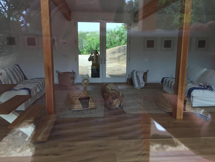"""<p>Despite the fact that this was a kit home, Laura was able to design and personalize it herself during the nearly two-year construction project. """"Like I think I'm an architect,"""" she says. """"I'm not, but I'm definitely somebody who knows what I want.""""<br></p>"""