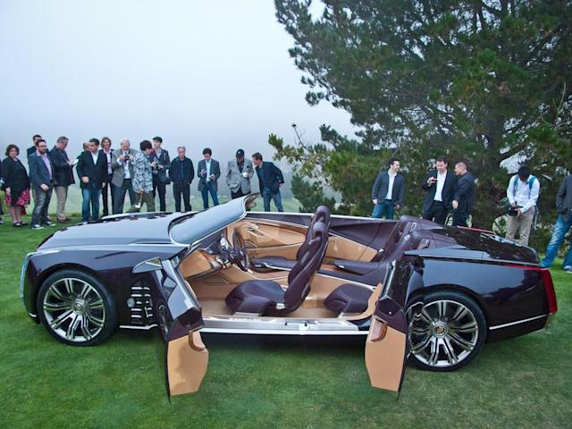 """Like many concept cars, the Ciel features rear-hinged """"suicide"""" doors that would not likely make it into a future production version."""