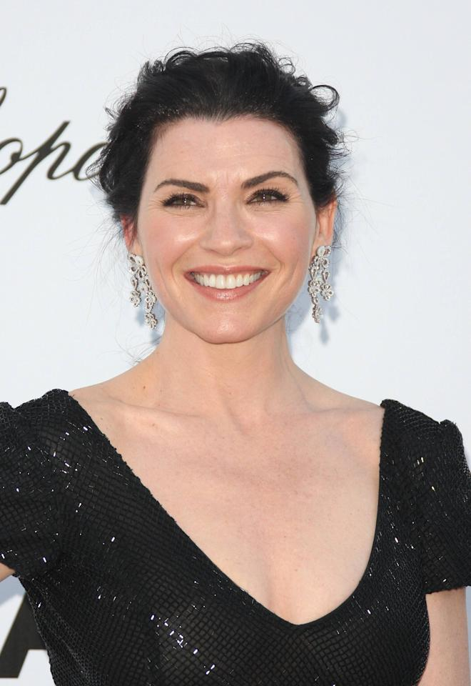 Julianna Margulies AmfAR's Cinema Against Aids gala 2012 during the 65th annual Cannes Film Festival Cannes, France - 24.05.12 Mandatory Credit: Lia Toby/WENN.com