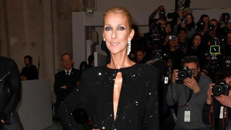 Celine Dion, Jimmy Kimmel, and David Spade crash a Las Vegas wedding