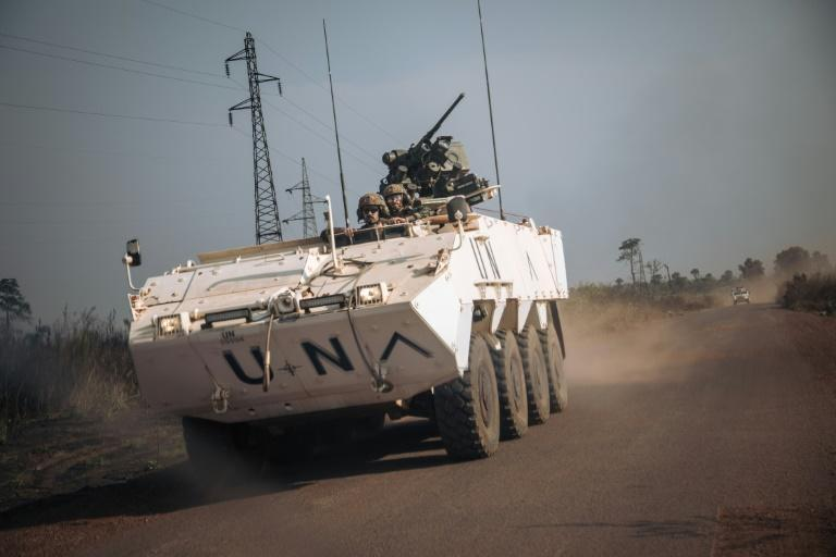 Portuguese peacekeeping troops headed out on Tuesday towards Boali, a town on the key RN1 highway where rebels had clashed with security forces