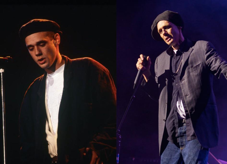 Ben made quite the impression on teenage Brits in the 80s, pictured left in 1987 and right in 2016. . (Getty)