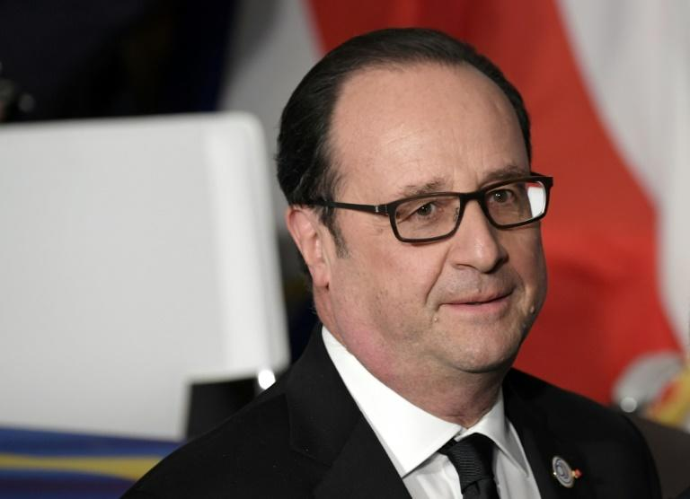 France's President Francois Hollande advised successors to stick closely to Europe so France would not contemplate its own Exit from the EU