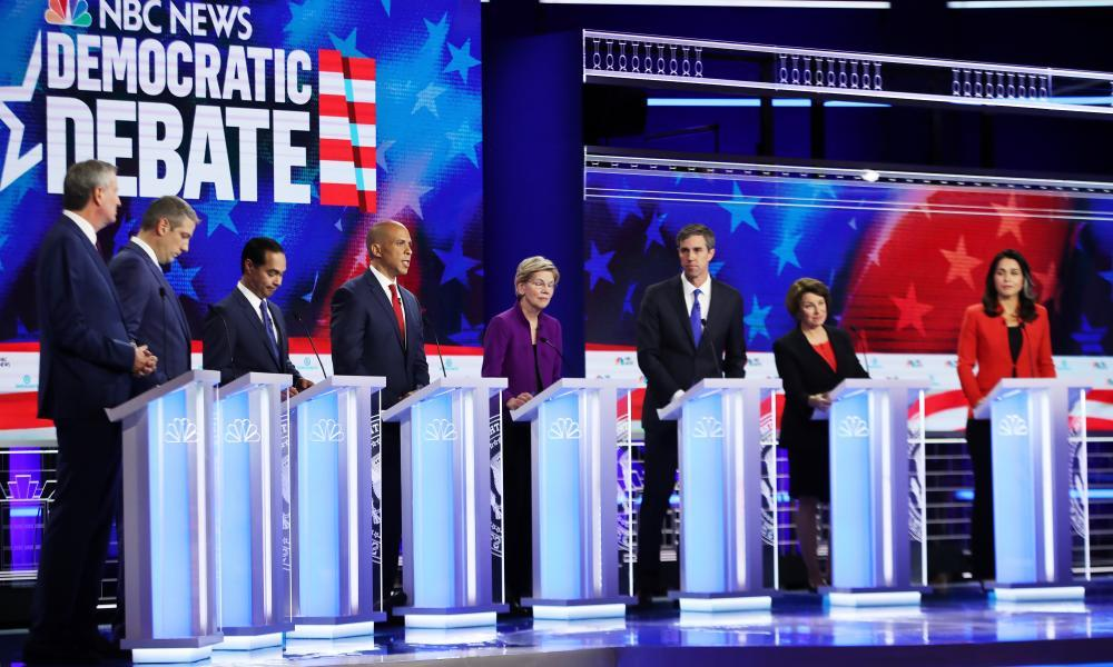Climate Change Got Seven Minutes of Airtime On the First Democrats Debate