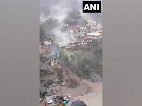 Visual from the site of the incident (ANI).