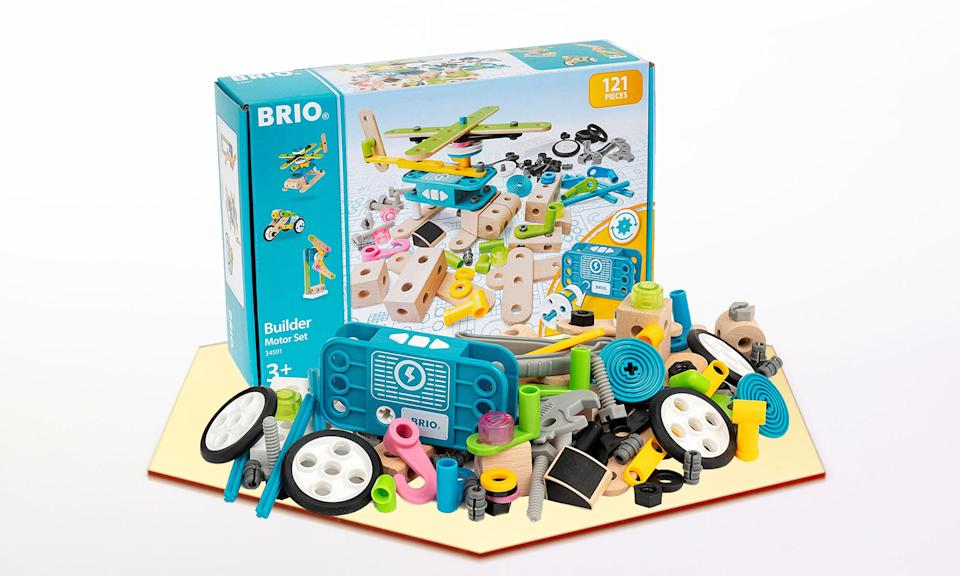 Holiday Gift Guide: Brio Builder Motor Set