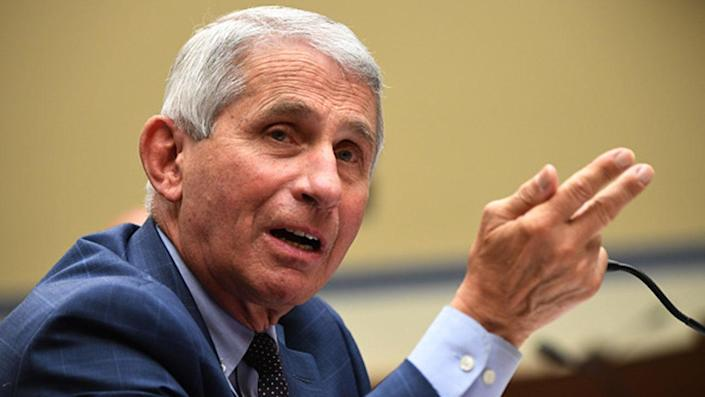 Dr. Anthony Fauci, President Biden's chief medical adviser, said the country needs to gain control over the COVID-19 pandemic to approach normalcy.