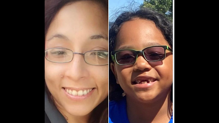 The two missing people have been identified as Teresa Villino, 30, and Isiah Crawford, 7, both of Eden, N.C.