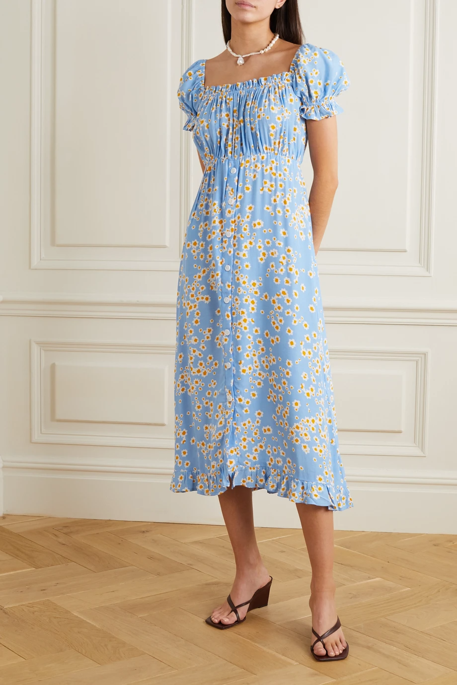 "<br> <br> <strong>Faithfull the Brand</strong> Ina Floral-Print Crepe Midi Dress, $, available at <a href=""https://go.skimresources.com/?id=30283X879131&url=https%3A%2F%2Fwww.net-a-porter.com%2Fen-us%2Fshop%2Fproduct%2Ffaithfull-the-brand%2Fina-floral-print-crepe-midi-dress%2F1193979"" rel=""nofollow noopener"" target=""_blank"" data-ylk=""slk:Net-A-Porter"" class=""link rapid-noclick-resp"">Net-A-Porter</a>"