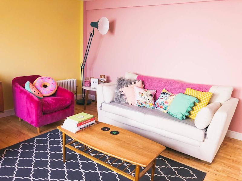 The colourful Airbnb is situated within walking distance of all the biggest attractions. (Airbnb)