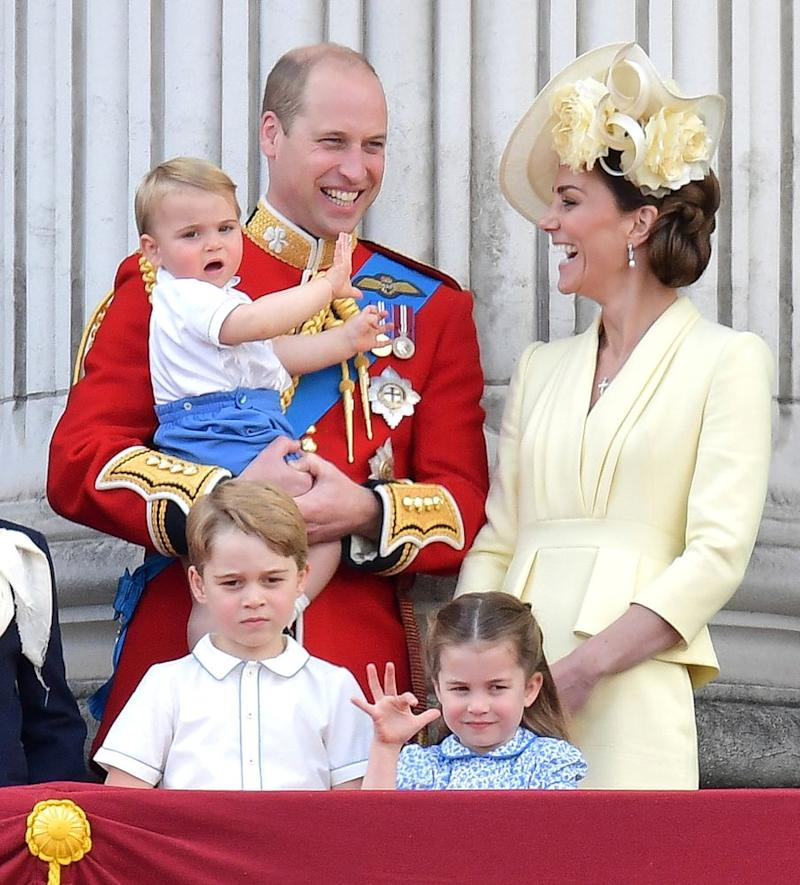 Prince William, Kate Middleton, Prince Louis, Prince George and Princess Charlotte | DANIEL LEAL-OLIVAS/AFP/Getty Images
