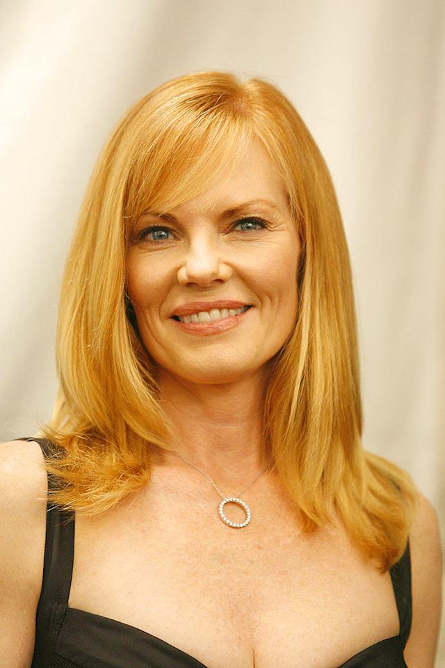 """CSI"" star Marg shows off her strawberry blonde coif. Steve Granitz/<a href=""http://www.wireimage.com"" target=""new"">WireImage.com</a> - February 4, 2006"