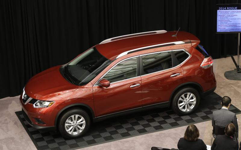 Nissan says 2014 Rogue is more efficient