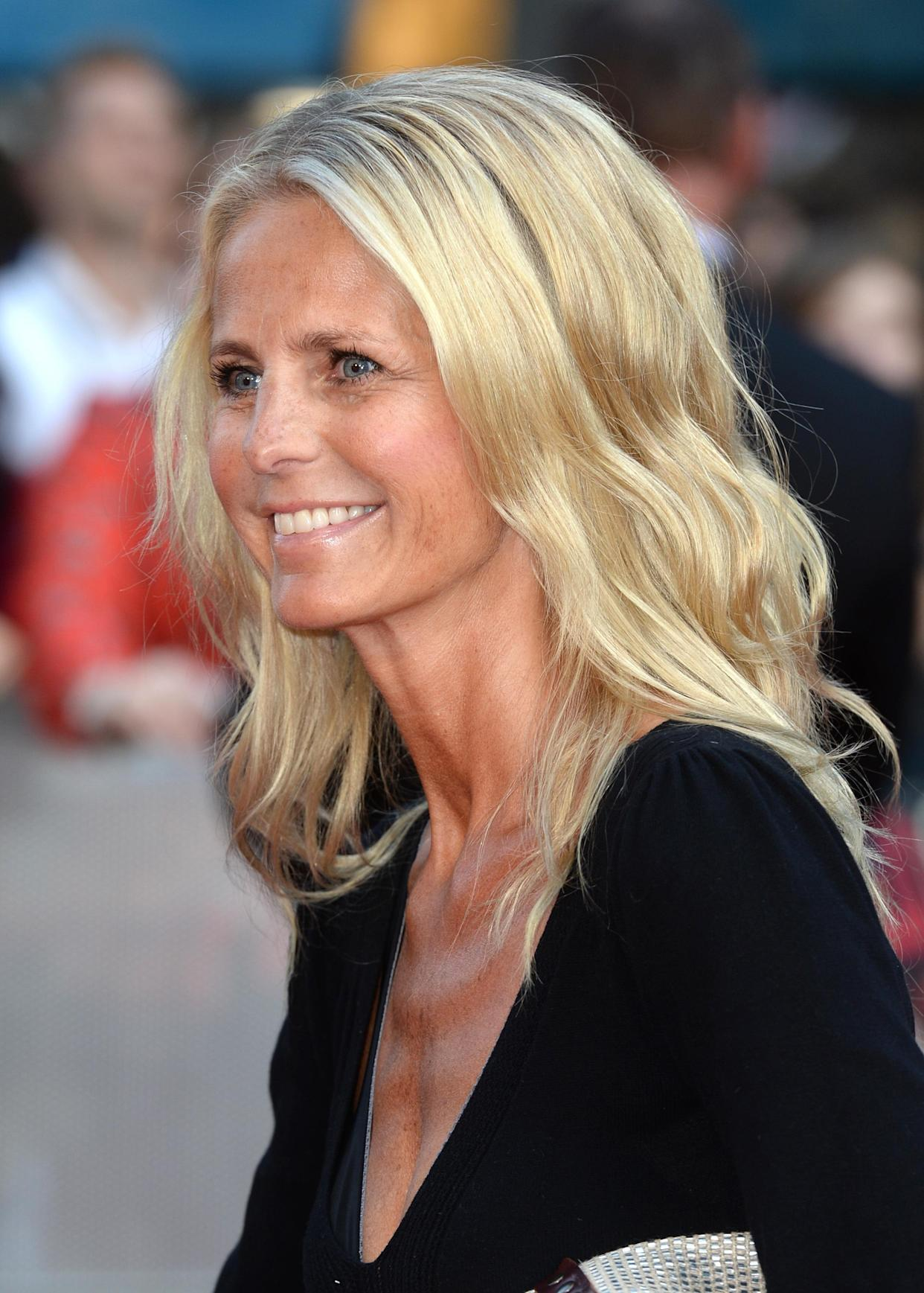 Ulrika Jonsson attending the UK Premiere of This Is Us, Odeon Cinema, Leicester Square, London.