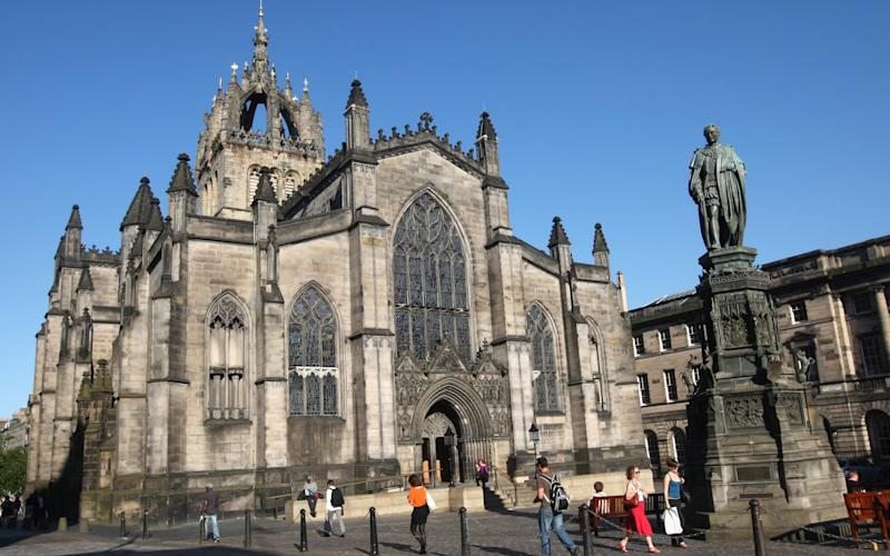 St Giles' Cathedral in Edinburgh - PA