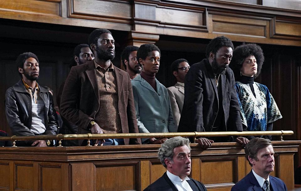 Mangrove tells the story of a group of activists who were tried and acquitted for inciting a riot (Photo: BBC/McQueen Limited/Kieron McCarron)