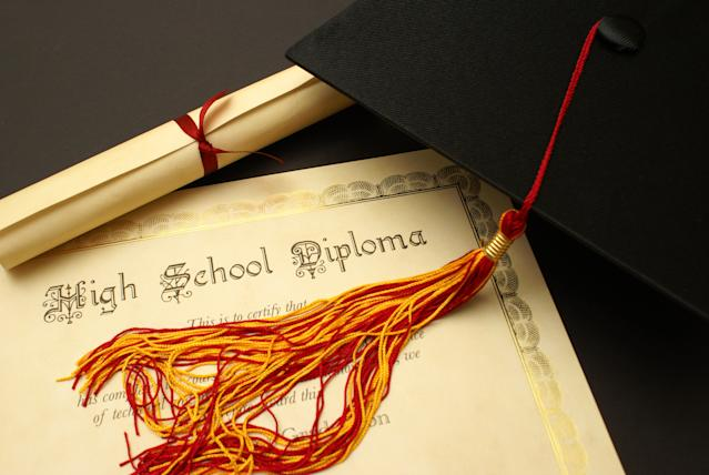 Veteran Lewis Shaw earned his high school diploma last week at 95. (Photo: Getty stock image)