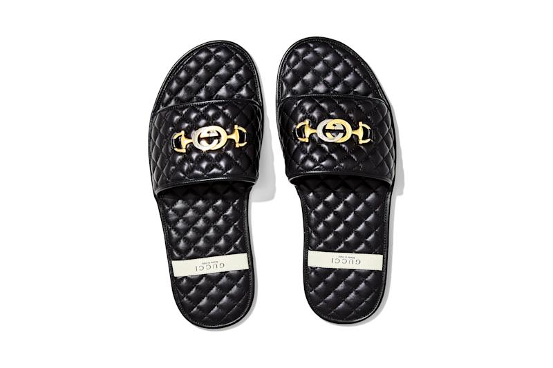 Slides, $980, by Gucci