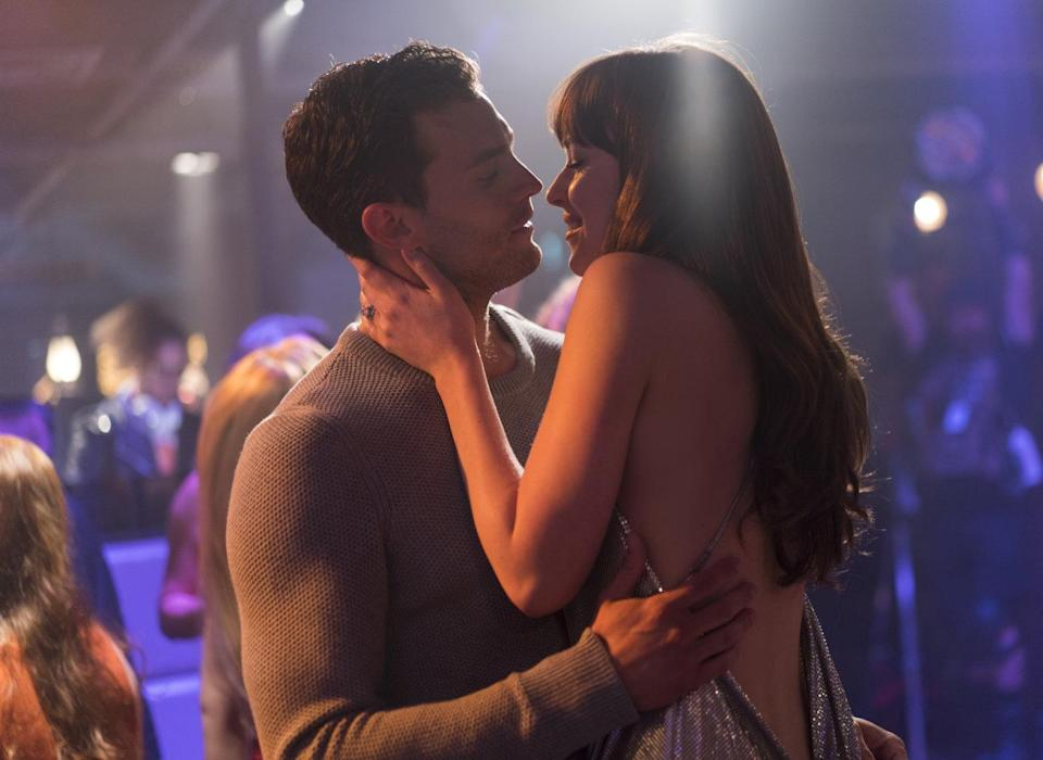 A scene from erotic thriller <i>Fifty Shades Freed</i> (Universal)