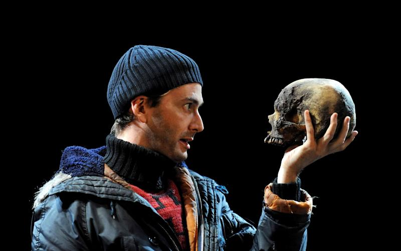 David Tennant in the role at the RSC - Credit: Alastair Muir