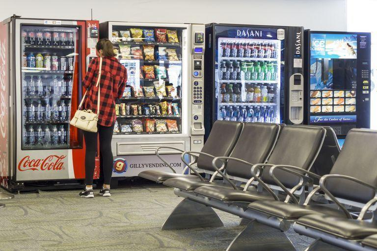 "<p>In Washington, it's been decided that <a href=""https://app.leg.wa.gov/rcw/default.aspx?cite=70.54.090"" rel=""nofollow noopener"" target=""_blank"" data-ylk=""slk:attaching vending machines to a utility pole is off-limits"" class=""link rapid-noclick-resp"">attaching vending machines to a utility pole is off-limits</a> without prior consent, so you'll just have to track down your snacks elsewhere.</p>"