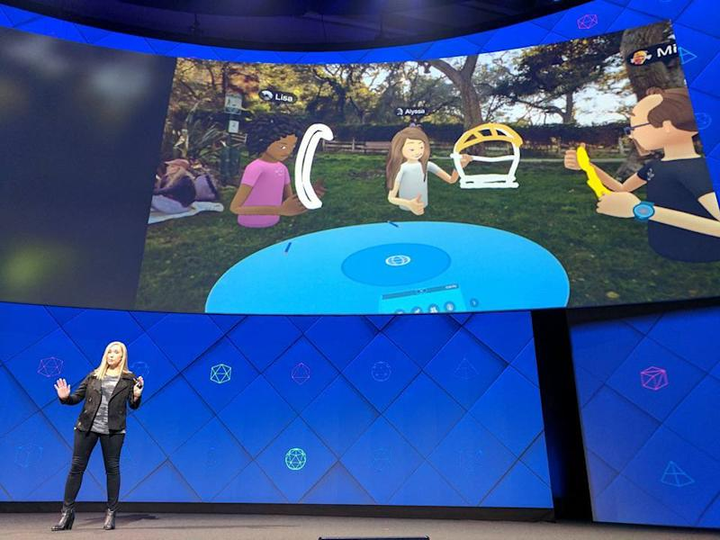 Spaces : Facebook lance un Messenger en réalité virtuelle