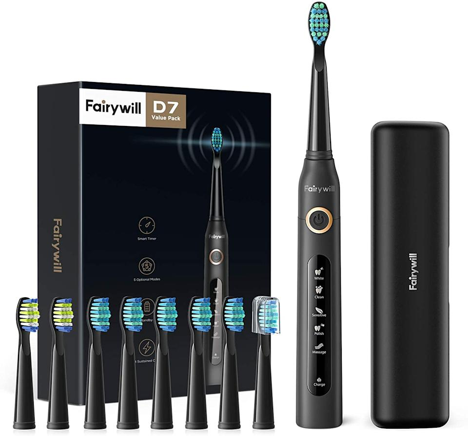 Fairywill Electric Toothbrush for Adults. Image via Amazon.