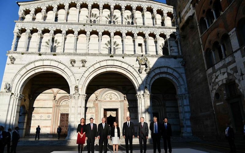 G7 foreign ministers are meeting in Italy - AFP