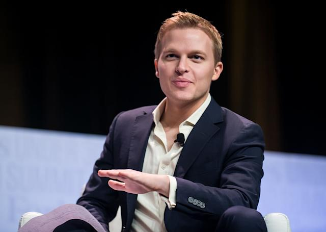 Ronan Farrow had reportedly been told by NBC News executives that he didn't have enough reporting to go on air with his Harvey Weinstein story.