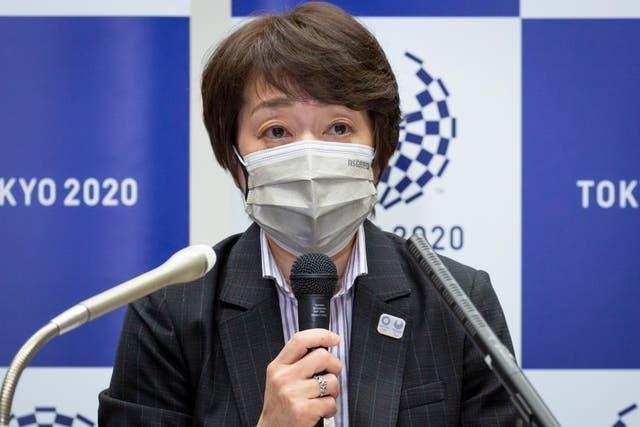Tokyo 2020 president Seiko Hashimoto says her top priority is the safety of the Japanese people and the health of overseas visitors