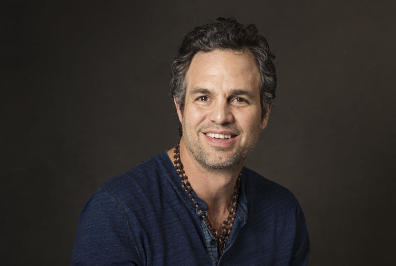 """In this Sunday, Jan. 19, 2014 photo, actor Mark Ruffalo of the film, """"Infinitely Polar Bear"""" poses for a portrait at The Collective and Gibson Lounge Powered by CEG, during the Sundance Film Festival, in Park City, Utah. The film starring Ruffalo, Zoe Saldana, and Keir Dullea, premiered at the 2014 Sundance Film Festival. (Photo by Victoria Will/Invision/AP)"""