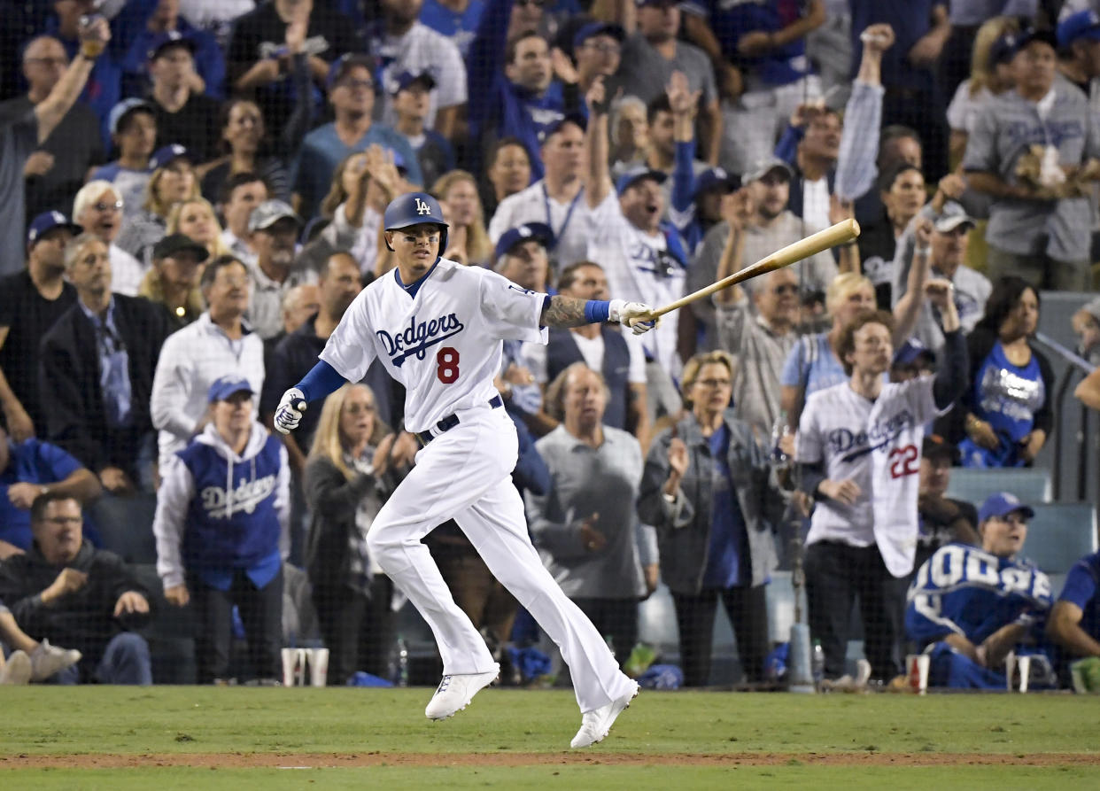 Manny Machado's 'thank you' Instagram post appears to put bow on short Dodgers tenure. (AP)