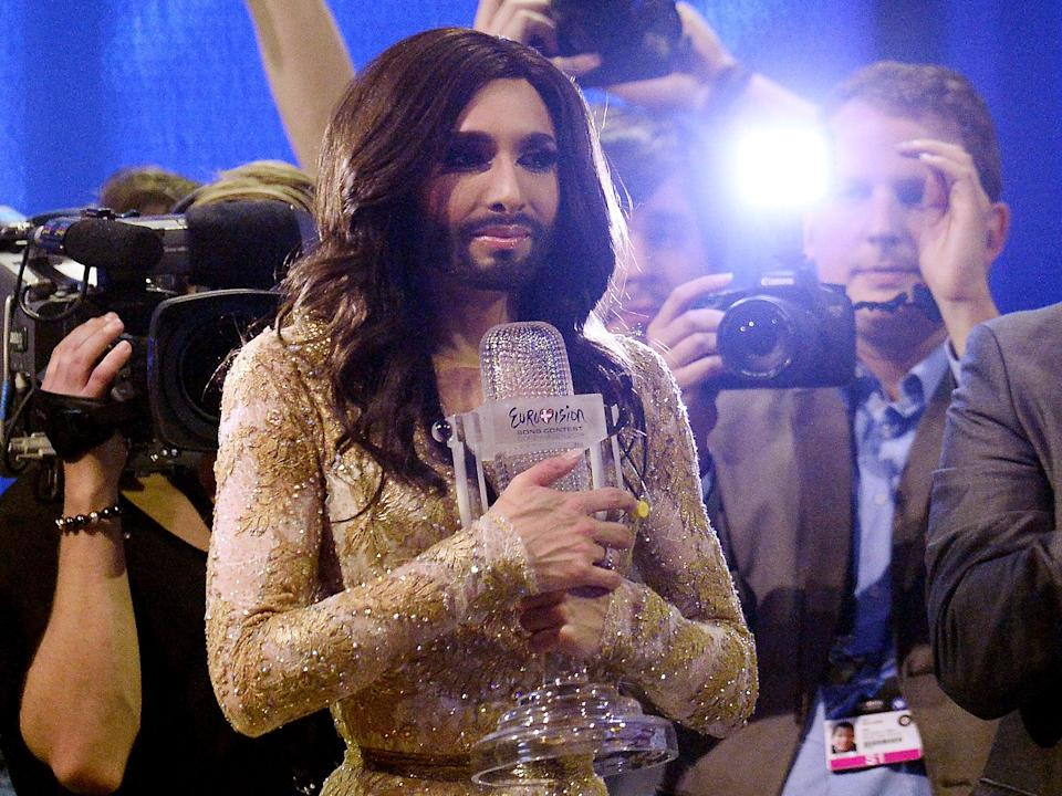 <p>Conchita Wurst was the winner of Eurovision 2014</p> (Getty Images)