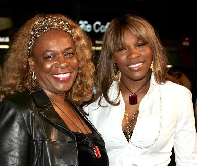 Serena thanked her mum in the emotional letter. Copyright: [Rex]