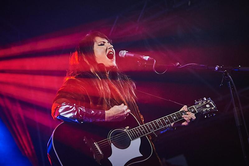 <p>The singer performed four gigs in one night for the Sleep in the Park event in Scotland.</p>