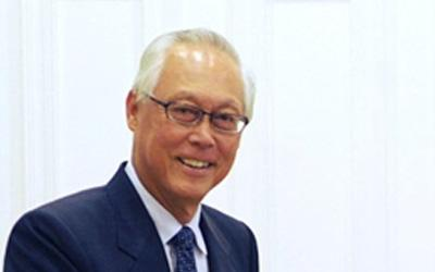 SM Goh talks about the role of young Singaporeans in the upcoming election. (AFP Photo)